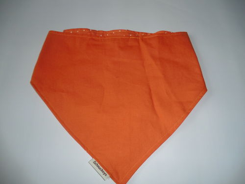 Hundehalstuch XL Orange