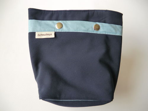 "Gassi to go Tasche "" Dark Blue """